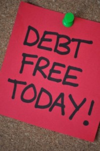For debt freedom
