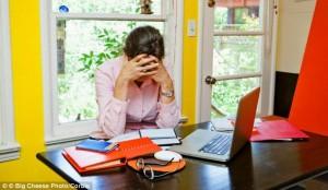 stress in economic recession